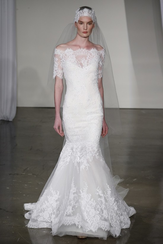 Fall 2013 wedding dress Marchesa bridal 18