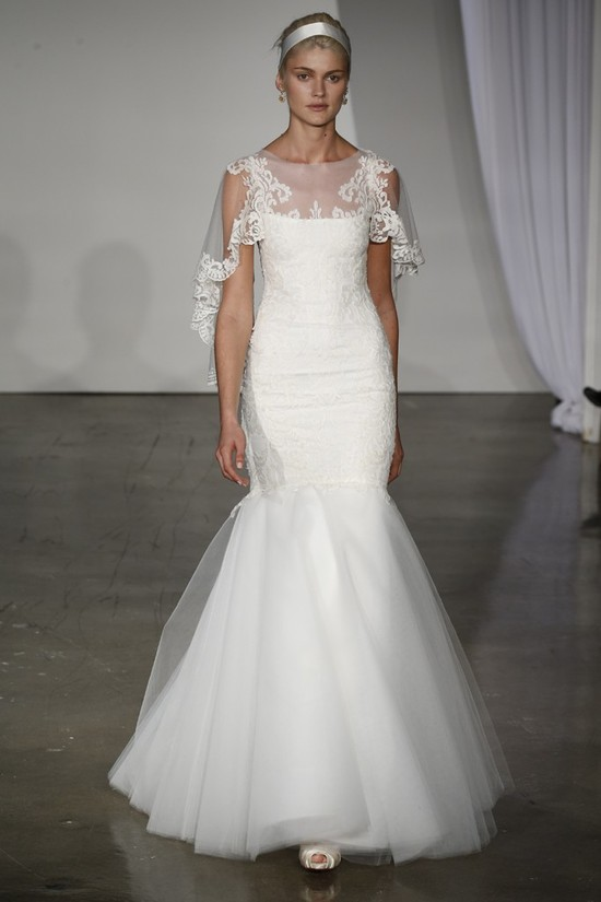 Fall 2013 wedding dress Marchesa bridal 17
