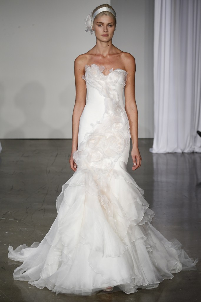 Fall 2013 wedding dress Marchesa bridal gowns 1