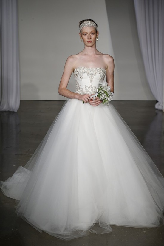 Fall 2013 wedding dress Marchesa bridal 12