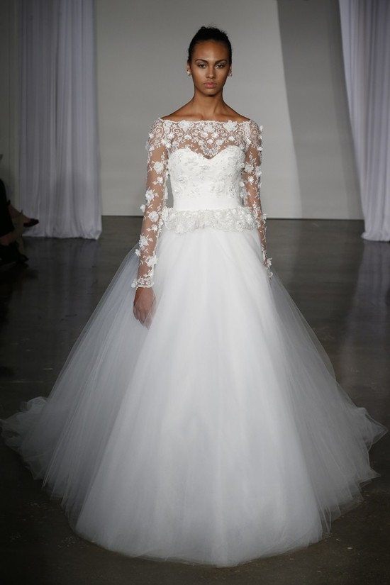 Fall 2013 wedding dress Marchesa bridal 6