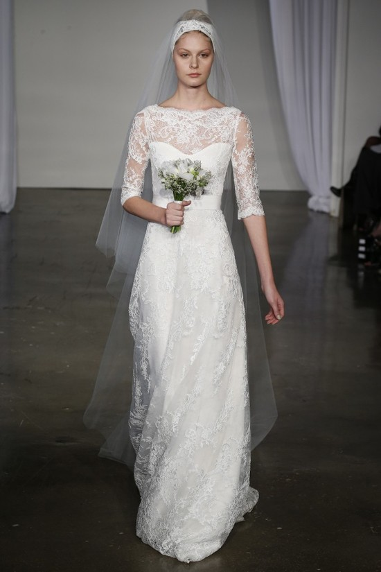 Fall 2013 wedding dress Marchesa bridal 8