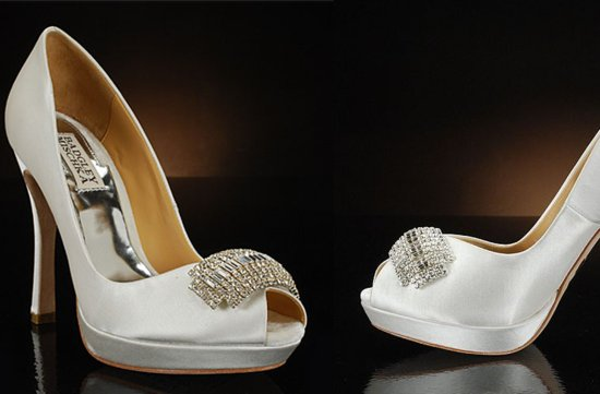 Peep Toe Wedding Shoes for Every Style Bride 5