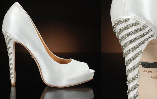 Peep Toe Wedding Shoes for Every Style Bride Glam 1