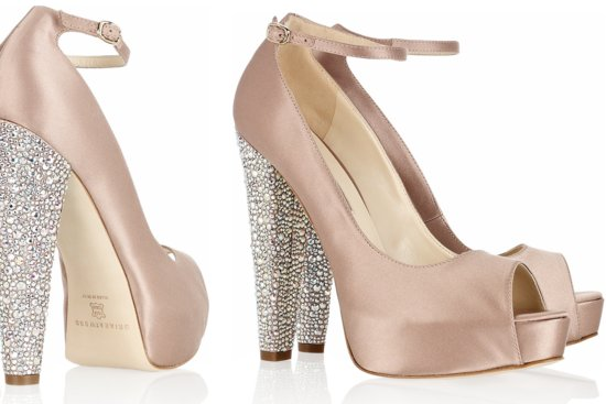 Peep Toe Wedding Shoes for Every Style Bride 3