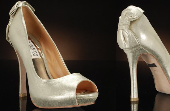 Peep Toe Wedding Shoes for Every Style Bride 2