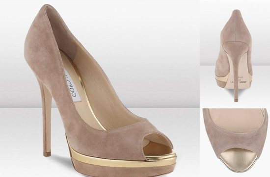Peep Toe Wedding Shoes for Every Style Bride 1