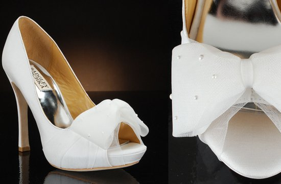Peep Toe Wedding Shoes for Every Style Bride 9