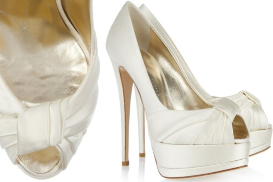 Peep Toe Wedding Shoes for Every Style Bride 6