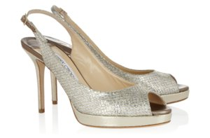 photo of Peep-Toe Wedding Shoes for Every Style Bride