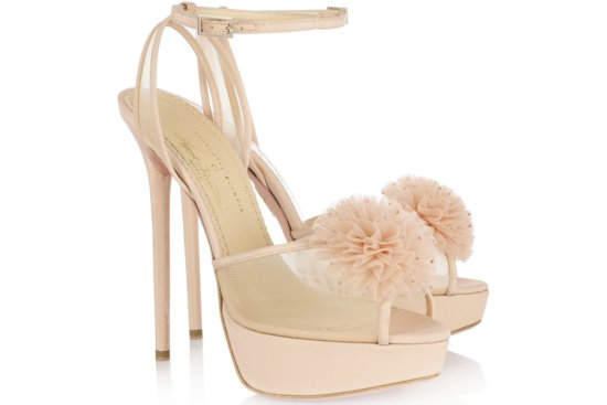 Peep Toe Wedding Shoes for Every Style Bride Romantic 2
