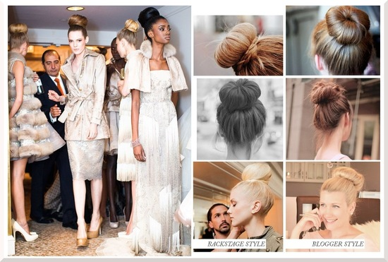wedding hair DIYs just in time for the holidays high bun 2