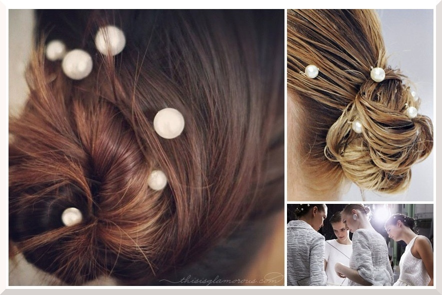 Wedding-hair-diys-just-in-time-for-the-holidays-pearlized-bun-2.full