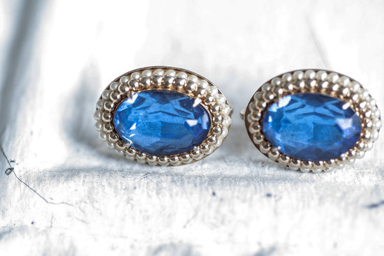 Something Blue for the Bride Splurge or Save earrings