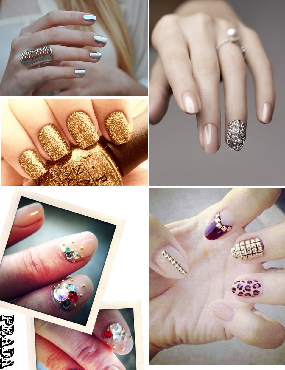 Awesome-wedding-day-manicures-for-beauty-loving-brides-glam-sparkly-metallic.full