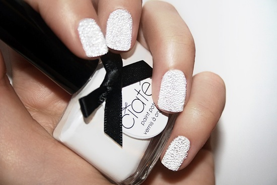wedding nail art luxe texture