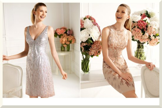 Bridesmaids Dresses for the Fashion Forward Wedding Party Pronovias 2013 3