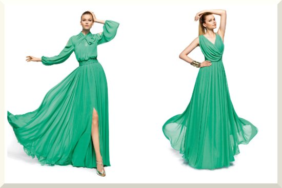 Bridesmaids Dresses for the Fashion Forward Wedding Party Pronovias 2013 15