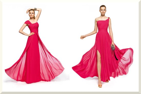 Bridesmaids Dresses for the Fashion Forward Wedding Party Pronovias 2013 14