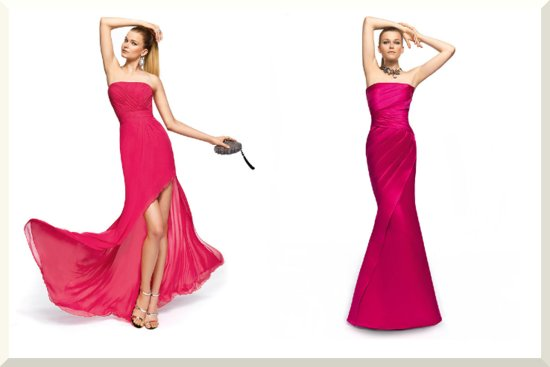 Bridesmaids Dresses for the Fashion Forward Wedding Party Pronovias 2013 13