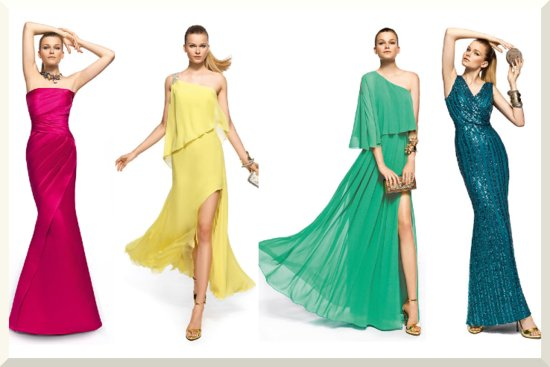 Bridesmaids Dresses for the Fashion Forward Wedding Party Pronovias 2013