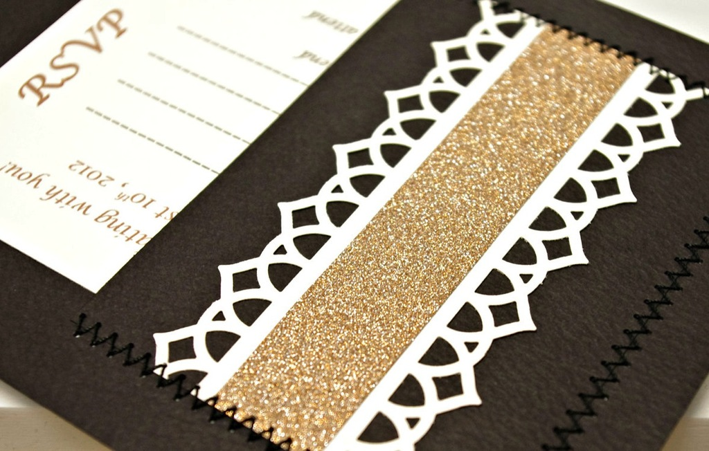 Glittery Gold Wedding Finds for Glam Handmade Weddings RSVP