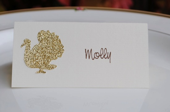 Glittery Gold Wedding Finds for Glam Handmade Weddings escort cards