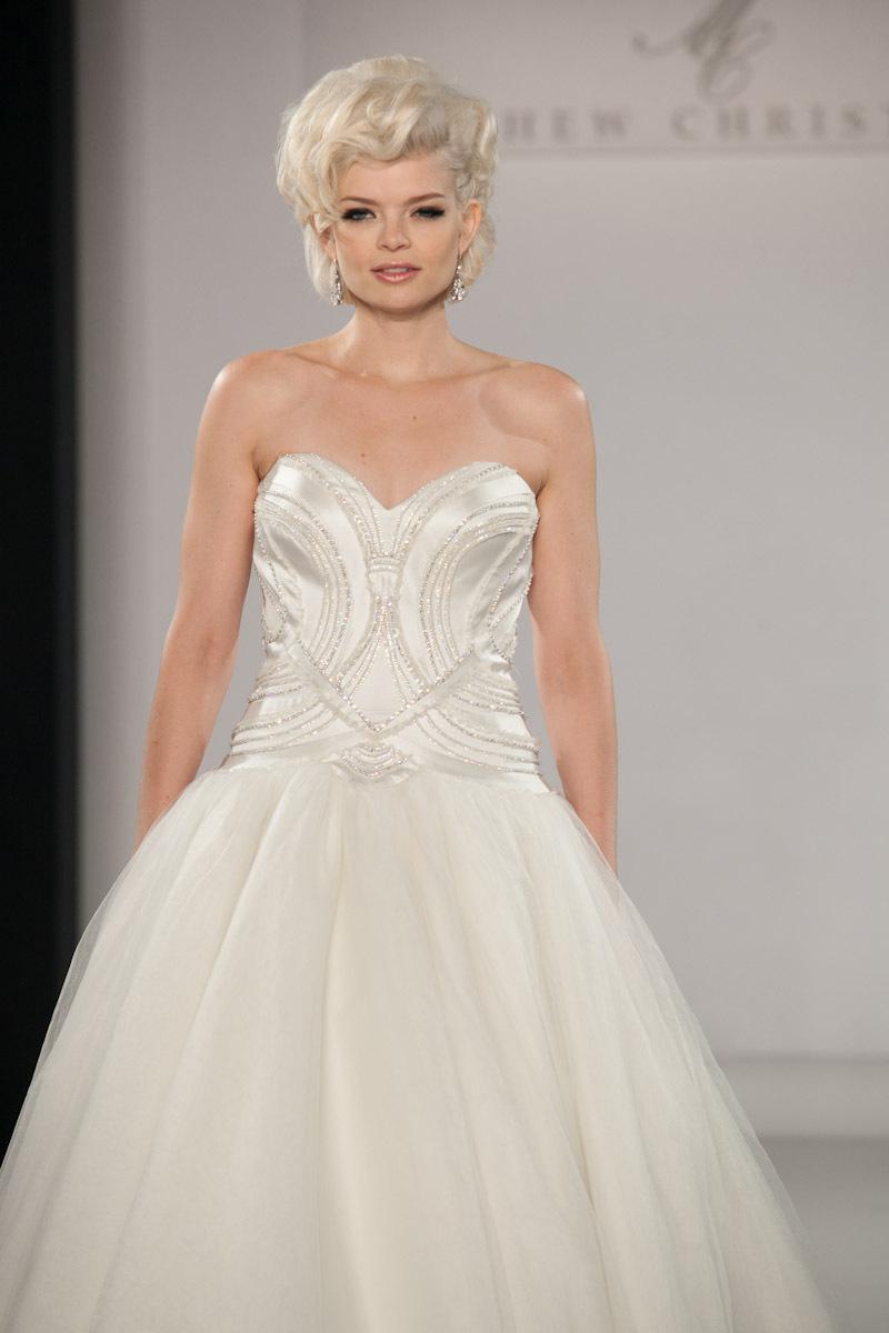 Fall 2013 wedding dress by matthew christopher bridal 14 for Christopher matthews wedding dresses