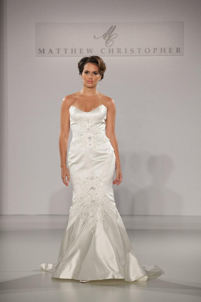Fall 2013 wedding dress by matthew christopher bridal 3 for Christopher matthews wedding dresses