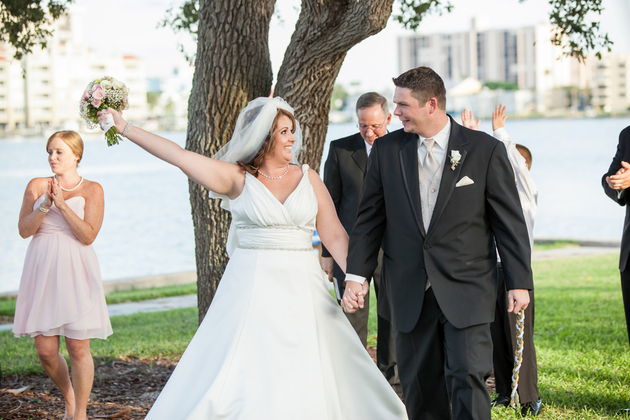 Real Wedding Inspiration Finding Love Online Clearwater FL wedding 7