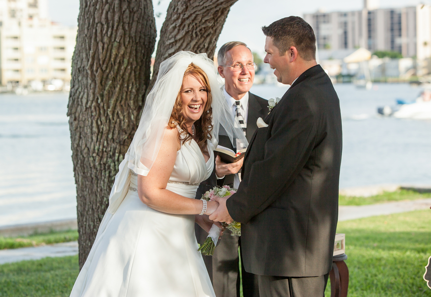 Real Wedding Inspiration Finding Love Online Clearwater FL wedding 8