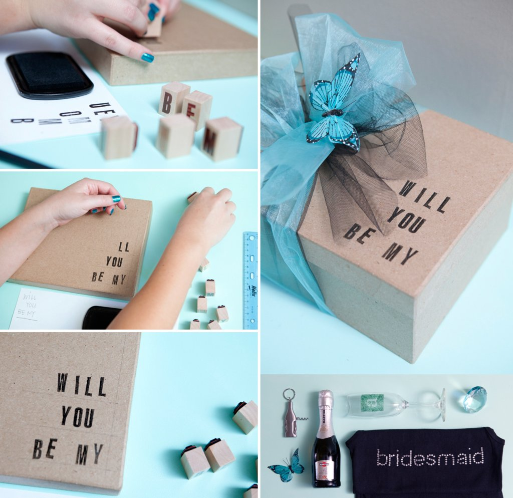 Creative Ways to Say Will You Be My Bridesmaid.