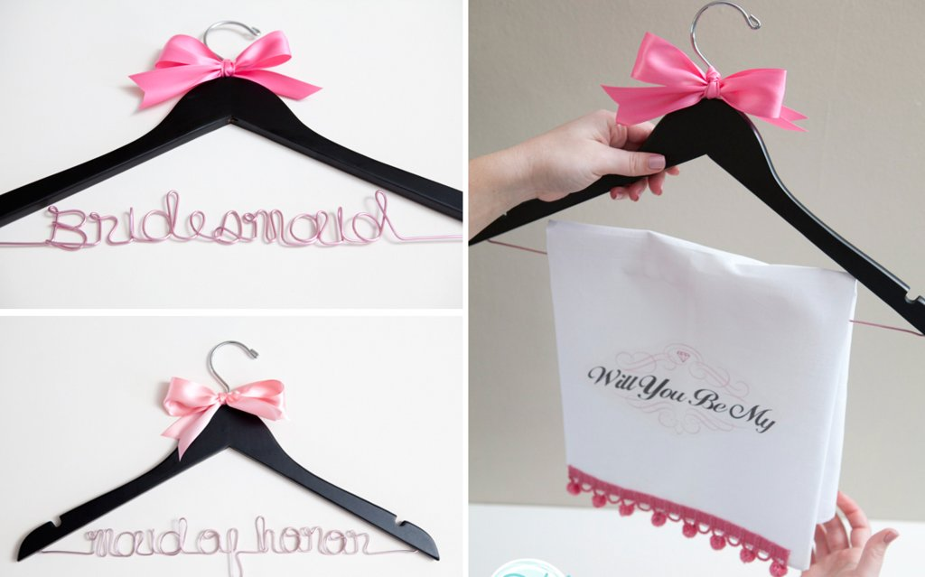 Custom Hangers Will You Be My Bridesmaid