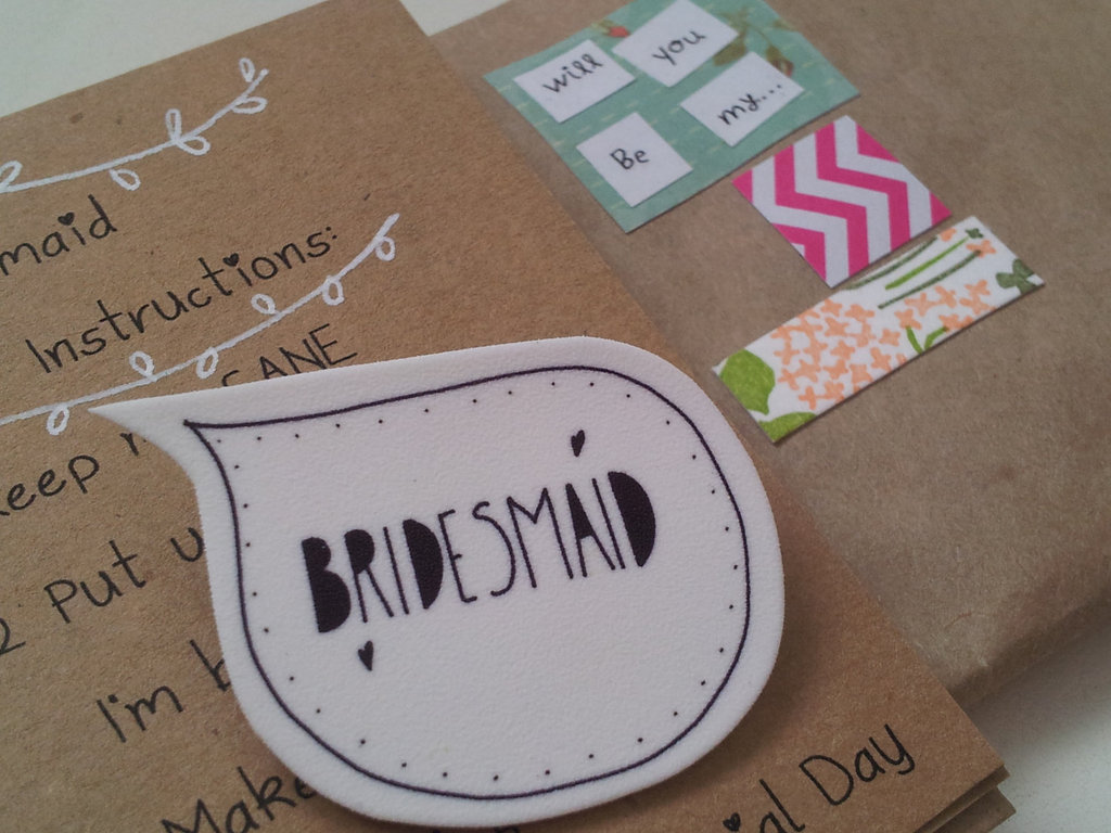 Unique Wedding Ideas to say Will You Be My Bridesmaid 11