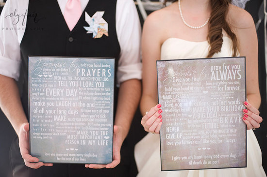 Typography Wedding Finds for Modern Brides 1