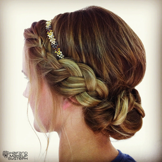 Easy Breezy Bridal Updos 6