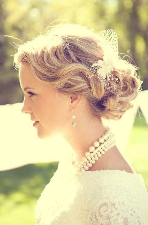 Easy Breezy Bridal Updos Wedding Hair