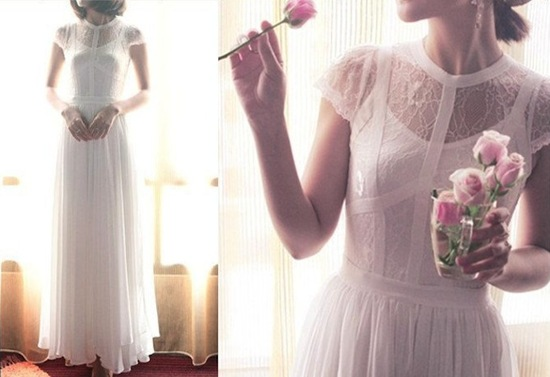 Sleeved Wedding Dresses on Etsy bridal trends 2012 8