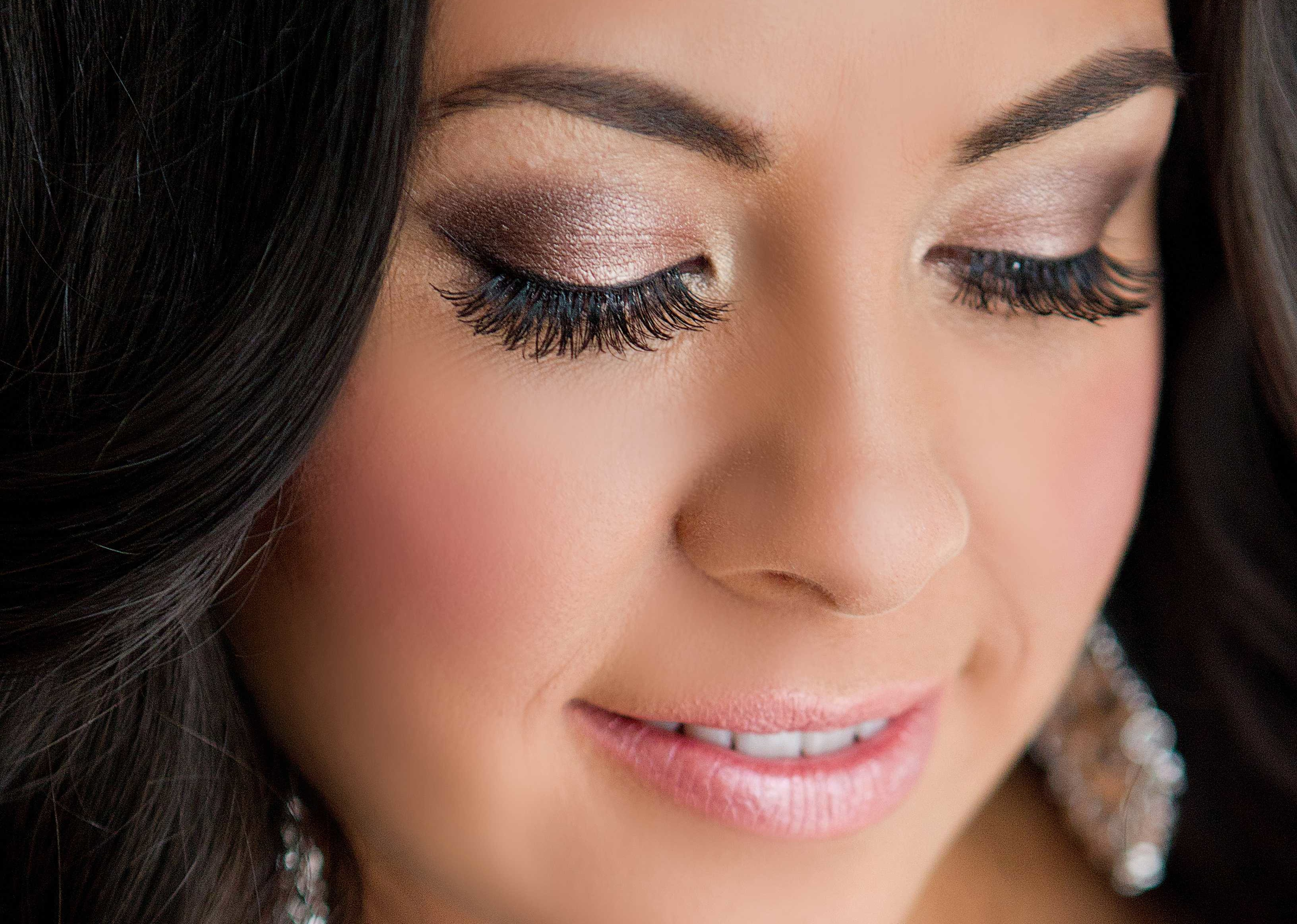Dramatic Bridal Makeup Brown Eyes : Wedding Makeup Inspiration Dramatic Eyes for the Bride 2 ...