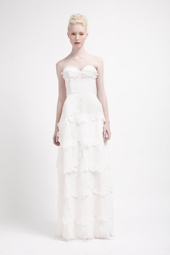 Handmade Wedding Dresses Bridal Designers to Watch Kelsey Genna Windflower