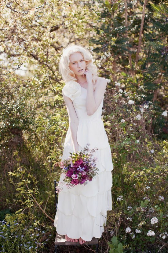 Handmade Wedding Dresses Bridal Designers to Watch Kelsey Genna Begonia 2