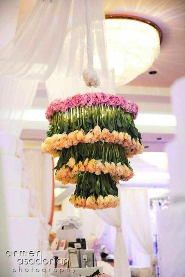Wedding-ideas-we-love-floral-adorned-chandeliers-5.full