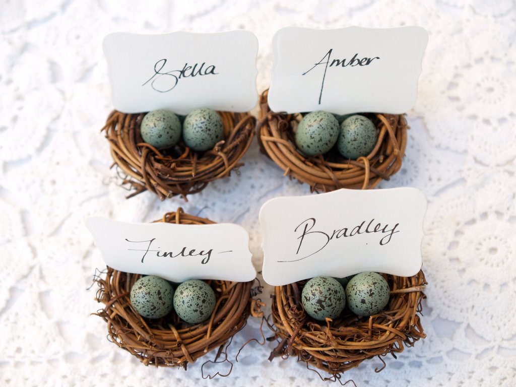 Rustic Wedding Ideas Woodland Weddings by Etsy escort card holders
