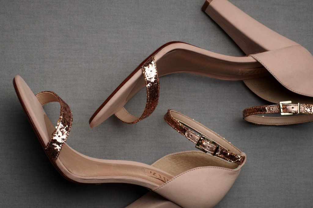 Wedding Accessories Inspiration Shimmery Bridal Heels 3