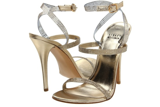 Wedding Accessories Inspiration Shimmery Bridal Heels Stuart Weitzman