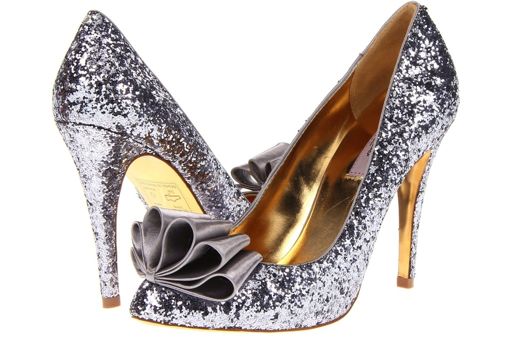 Wedding Accessories Inspiration Shimmery Bridal Heels ted baker