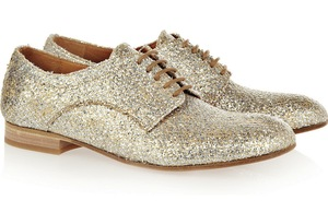 photo of 29 Pairs of Shimmery Glimmery Wedding Shoes