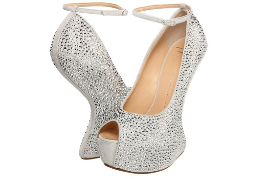Wedding Accessories Inspiration Shimmery Bridal Heels 10