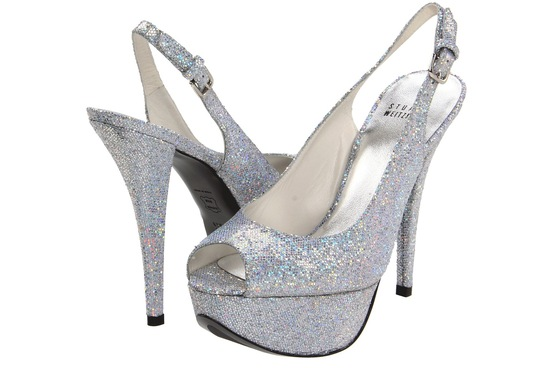 Wedding Accessories Inspiration Shimmery Bridal Heels 11