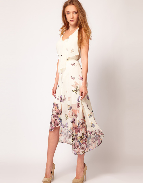 Stylish Bridesmaid Dresses from Asos 2013 Bridal Party Trends butterflies